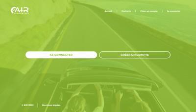 Site internet de Automotive International Retailer