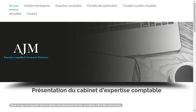Site internet de Ajm