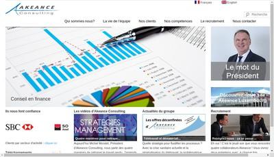Site internet de Akeance Consulting