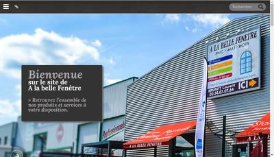 Site internet de A la Belle Fenetre