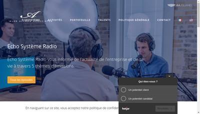 Site internet de Alan Allman Associates France