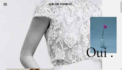 Site internet de Albi de Corbiac Paris