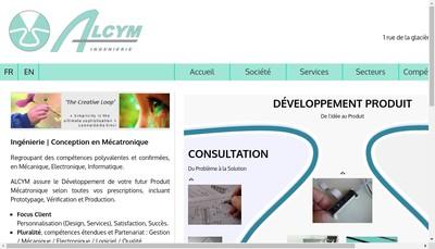 Site internet de Alcym