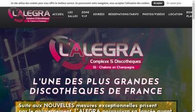 Site internet de Alegra