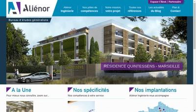 Site internet de Groupe Alienor