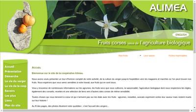 Site internet de Alimea