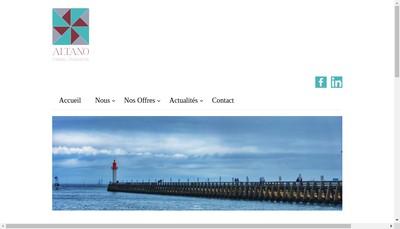 Site internet de Altano