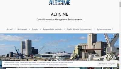 Site internet de Alticime