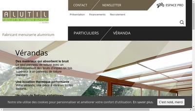Site internet de Alutil