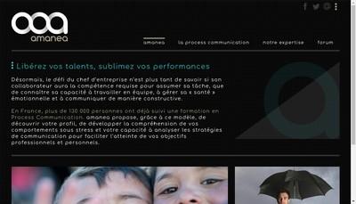 Site internet de Amanea