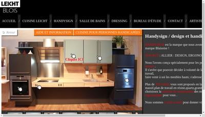 Site internet de Amf Concept