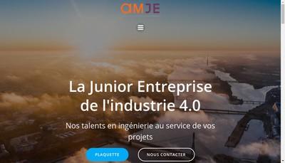 Site internet de AMJE Aix