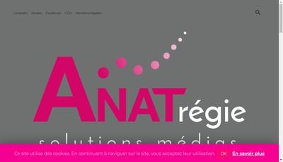 Site internet de Anat Regie