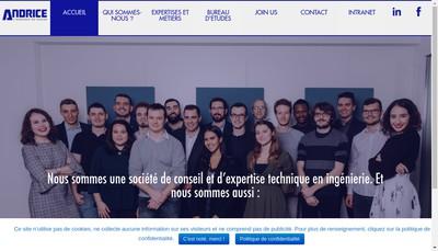 Site internet de Andrice Lyon
