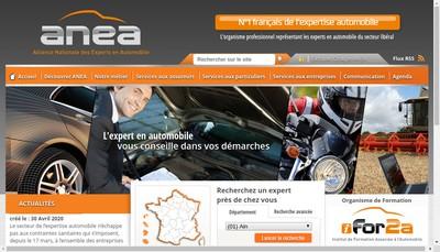 Site internet de Anea Recherche et Developpement