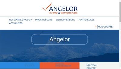 Site internet de Be An Angel
