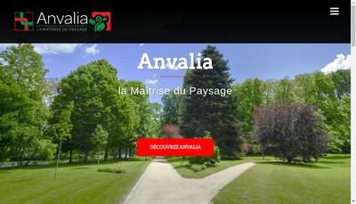 Site internet de Anvalia