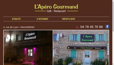 Site internet de L'Apero Gourmand