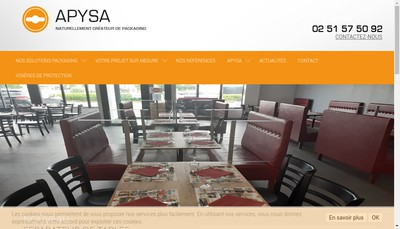 Site internet de Apysa