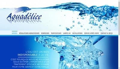 Site internet de Eaudelice