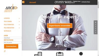 Site internet de Arceo