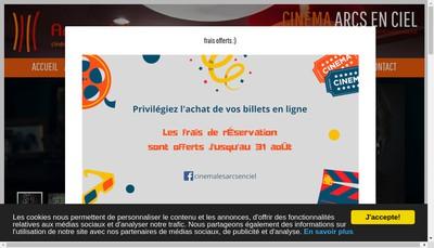 Site internet de Les Toiles du Nord