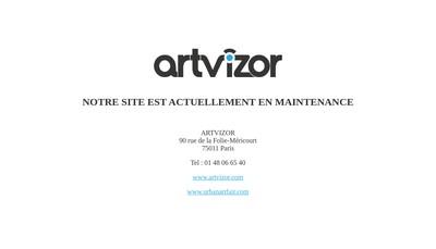 Site internet de Artvizor