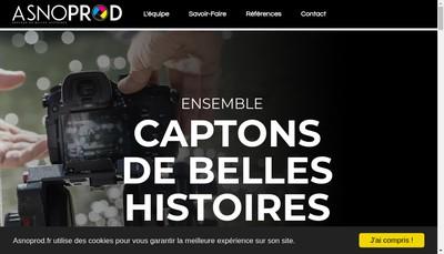 Site internet de Asnoprod