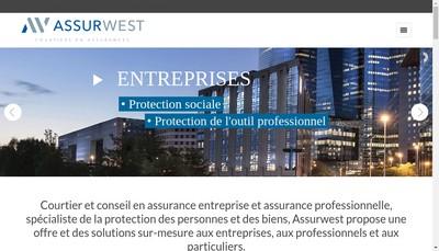 Site internet de Assurwest