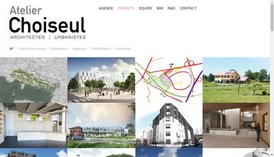 Site internet de Atelier Choiseul