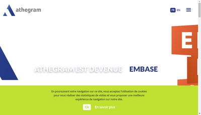 Site internet de Athegram