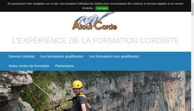 Site internet de Atoutcorde