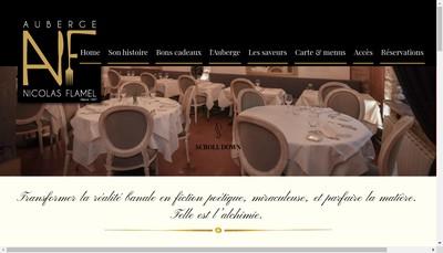 Site internet de Auberge Nicolas Flamel