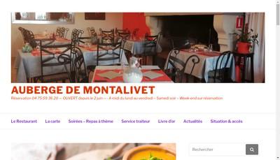 Site internet de Auberge de Montalivet