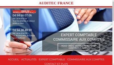 Site internet de Auditec France