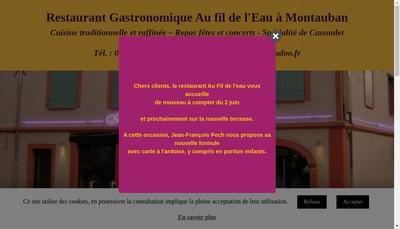 Site internet de Au Fil de l'Eau