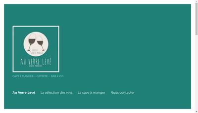Site internet de Au Verre Leve