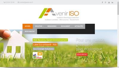 Site internet de Avenir Iso
