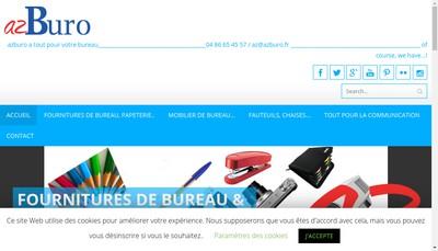 Site internet de Az Buro