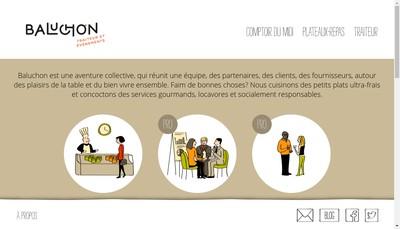 Site internet de Baluchon - a Table Citoyens