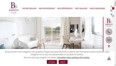 Site internet de Bangui Groupe