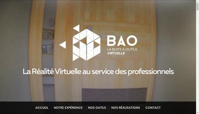 Site internet de Bao Virtuelle