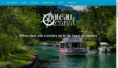 Site internet de Bateau le Chautagnard