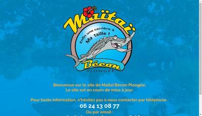 Site internet de Maitai Groupe