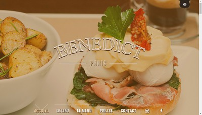 Site internet de Benedict