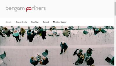 Site internet de Bergam Partners