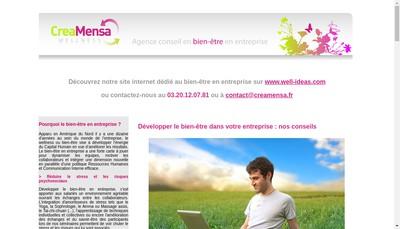 Site internet de Happy Unity