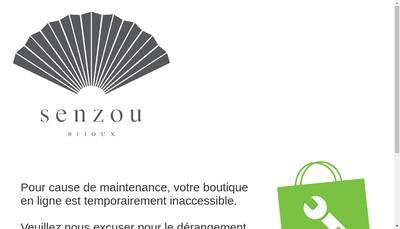 Site internet de Senzou Bijoux