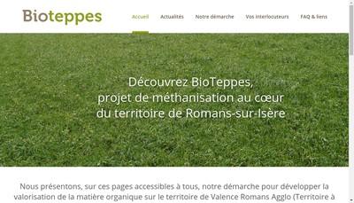 Site internet de Bioteppes