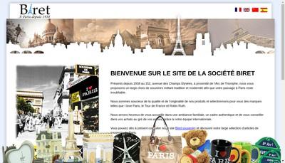 Site internet de I Love Paris